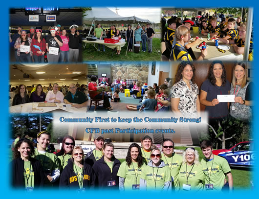 Community First Bank volunteer, outdoor and community events photo